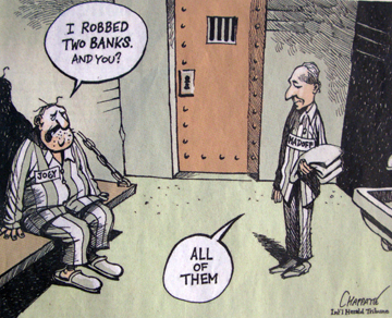 Bernie in Prision, International Herald Tribune 13.03.09